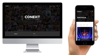 CONEXT 홈페이지 제작