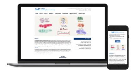 KAIST OS Lab 홈페이지 제작