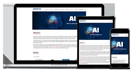 KAIST AI 홈페이지 제작